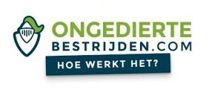 Ongedierte bestrijden logo in kleur